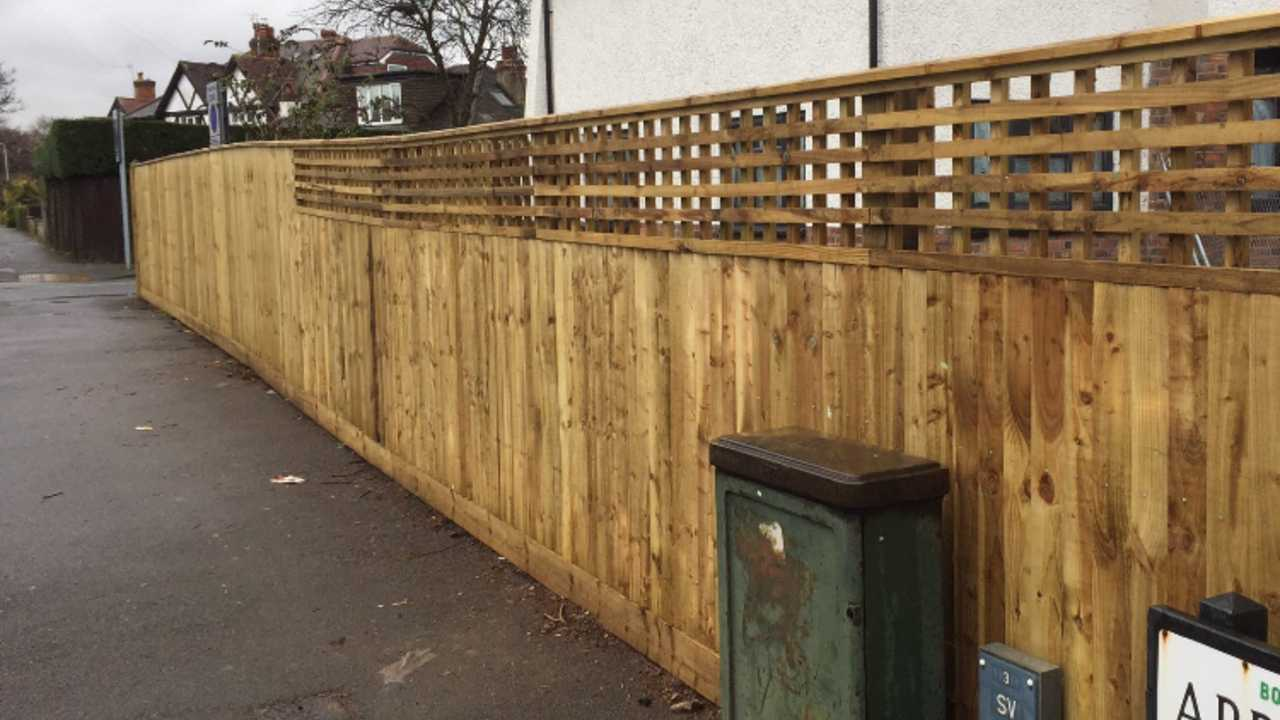 close board fencing in nottingham