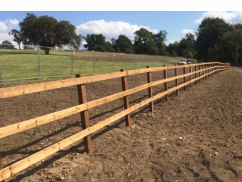 post and rail fencing contractors derby