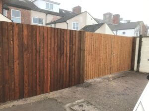 New Gate and Fencing in Derby