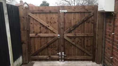Gate in Derby