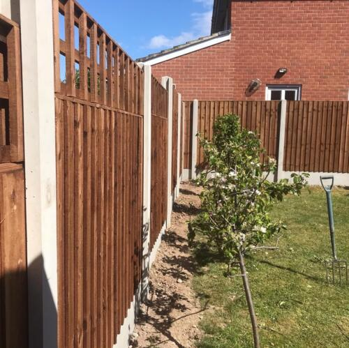 Fencing and concrete posts Derby