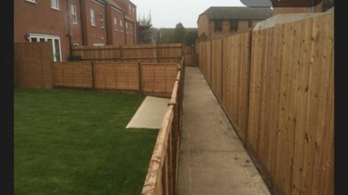 garden fencing Burton on Trent
