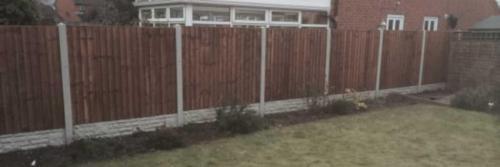 closeboard garden fencing nottingham