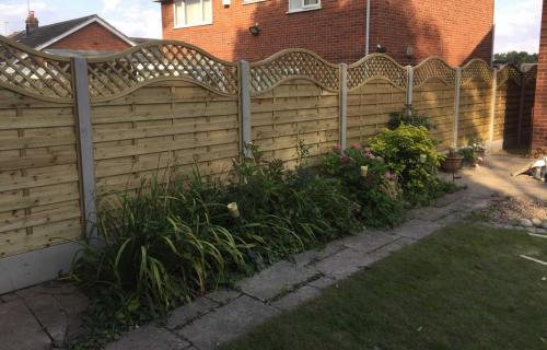 garden fencing derby