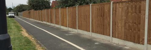 timber fencing services Derby
