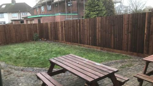 timber garden fencing derby